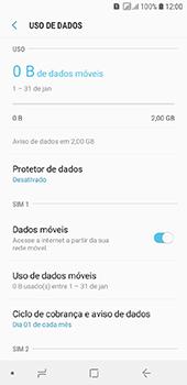 Samsung Galaxy J6 - Rede móvel - Como ativar e desativar uma rede de dados - Etapa 6