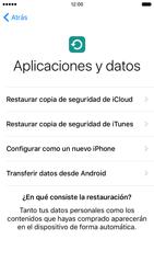 Apple iPhone 6s iOS 9 - Primeros pasos - Activar el equipo - Paso 17