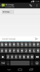 Motorola Moto X (2ª Gen) - Mensajería - Escribir y enviar un mensaje multimedia - Paso 7