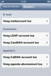 Apple iPhone 4 - E-mail - Handmatig instellen - Stap 6