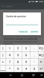HTC One A9 - Mensajería - Configurar el equipo para mensajes de texto - Paso 9