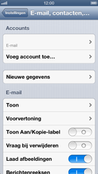 Apple iPhone 5 (iOS 6) - e-mail - handmatig instellen - stap 13
