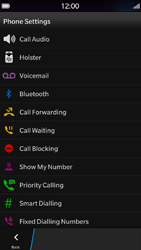 BlackBerry Z30 - Voicemail - Manual configuration - Step 5