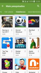 Samsung Galaxy J3 Duos - Aplicativos - Como baixar aplicativos - Etapa 9