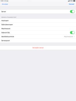 Apple ipad-air-10-5-inch-2019-model-a2123 - E-mail - Account instellen (POP3 met SMTP-verificatie) - Stap 18