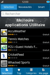 Samsung Wave M - Applications - Télécharger une application - Étape 4