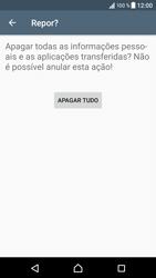 Sony Xperia XZ - Android Nougat - Repor definições - Repor definições de fábrica do telemóvel -  8