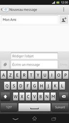 Sony Xpéria SP - Contact, Appels, SMS/MMS - Envoyer un MMS - Étape 11