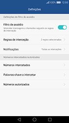 Huawei P9 - Chamadas - Bloquear chamadas de um número -  6