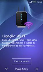 Sony Xperia E1 - Primeiros passos - Como ligar o telemóvel pela primeira vez -  6