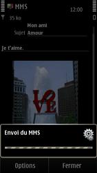 Nokia E7-00 - MMS - Envoi d