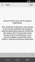 Huawei Ascend P7 - WiFi et Bluetooth - Configuration manuelle - Étape 5