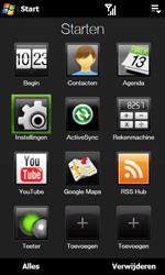 HTC T7373 Touch Pro II - Buitenland - Bellen, sms en internet - Stap 4