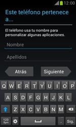 Samsung S7560 Galaxy Trend - Primeros pasos - Activar el equipo - Paso 12