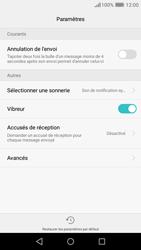 Huawei Y6 (2017) - SMS - Configuration manuelle - Étape 6