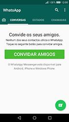 Huawei Y6 (2017) - Aplicações - Como configurar o WhatsApp -  14