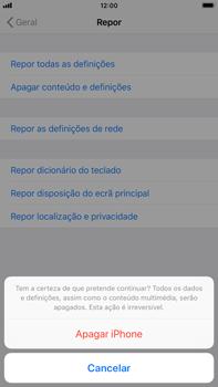 Apple iPhone 8 Plus - iOS 12 - Repor definições - Como repor definições de fábrica do telemóvel -  8