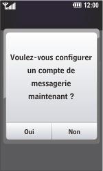 LG GC900 Viewty Smart - E-mail - Configuration manuelle - Étape 7