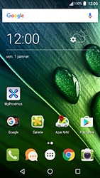 Acer Liquid Zest 4G - Internet - Sites web les plus populaires - Étape 1