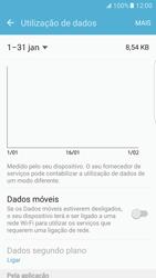 Samsung Galaxy S7 Edge - Internet no telemóvel - Como ativar os dados móveis -  5