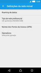 Sony Xperia M4 Aqua - Internet no telemóvel - Como ativar 4G -  8