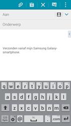 Samsung Galaxy Alpha 4G (SM-G850F) - E-mail - Hoe te versturen - Stap 5