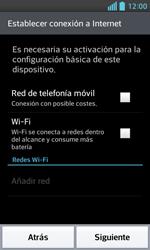 LG Optimus L5 II - Primeros pasos - Activar el equipo - Paso 5