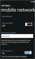 Nokia Lumia 710 - Internet - Manual configuration - Step 5