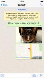 Apple iPhone 6 iOS 9 - WhatsApp - Partager des photos et votre emplacement avec WhatsApp - Étape 25