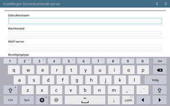 Samsung T535 Galaxy Tab 4 10-1 - E-mail - Account instellen (IMAP zonder SMTP-verificatie) - Stap 8