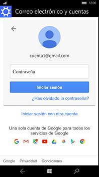 Microsoft Lumia 950 XL - E-mail - Configurar Gmail - Paso 9