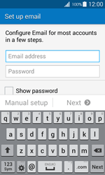 Samsung G357 Galaxy Ace 4 - E-mail - Manual configuration IMAP without SMTP verification - Step 6