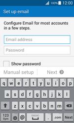 Samsung G357 Galaxy Ace 4 - E-mail - Manual configuration IMAP without SMTP verification - Step 6