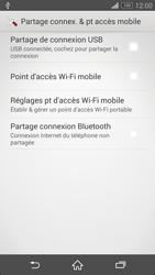 Sony Xpéria Z3 - Internet et connexion - Utiliser le mode modem par USB - Étape 7