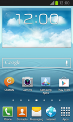 Samsung I9105P Galaxy S II Plus - Applications - Downloading applications - Step 1