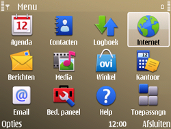 Nokia E72 - Internet - internetten - Stap 2