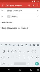 LG Google Nexus 5X - E-mail - Envoi d