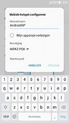 Samsung Galaxy J3 (2017) (SM-J330F) - WiFi - Mobiele hotspot instellen - Stap 9