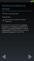 Samsung Galaxy S4 - Premiers pas - Créer un compte - Étape 22