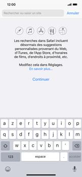 Apple iPhone XS Max - iOS 13 - Internet - navigation sur Internet - Étape 3
