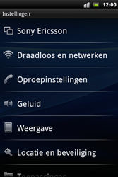 Sony Ericsson Xperia Mini Pro - Wifi - handmatig instellen - Stap 4