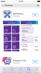 Apple iPhone 5 iOS 9 - Applications - MyProximus - Step 6