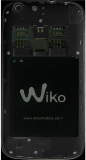 Wiko Stairway - Primeros pasos - Quitar y colocar la batería - Paso 4