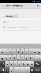 Acer Liquid E2 - E-mail - Envoi d