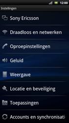 Sony Ericsson Xperia Neo - Netwerk - gebruik in het buitenland - Stap 7