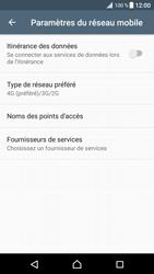 Sony Xperia XZ Premium - Internet et connexion - Activer la 4G - Étape 8