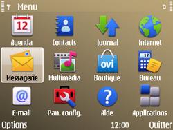 Nokia E72 - SMS - Configuration manuelle - Étape 3