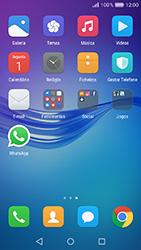 Huawei Y6 (2017) - Aplicações - Como configurar o WhatsApp -  4