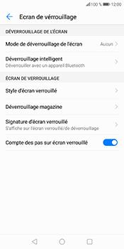 Huawei P Smart - Sécuriser votre mobile - Activer le code de verrouillage - Étape 6