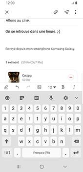Samsung Galaxy S9 Android Pie - E-mail - envoyer un e-mail - Étape 19